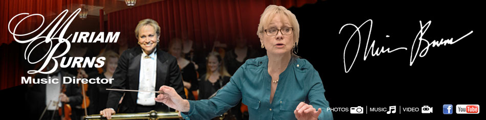Miriam Burns Music Conductor The Tallahassee Symphony